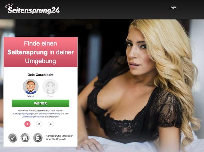 Sexkontakt auf Seitensprung24.com finden